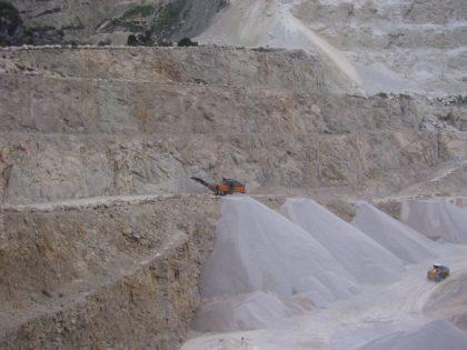 Extraction roche calcaire - W2200 - Carrière SAINT ANDRÉ